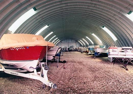 Crown steel buildings recreational steel buildings for Boat storage building plans